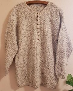 Vintage Chunky Knit Limited Express Sweater